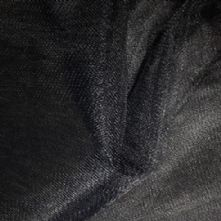 Extra Wide Soft Bridal Tulle Veiling in Black x 0.5m